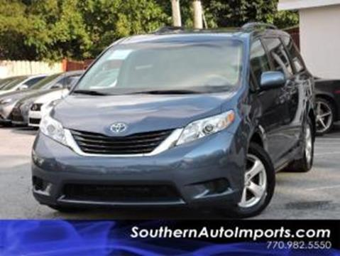 2014 Toyota Sienna for sale in Stone Mountain, GA