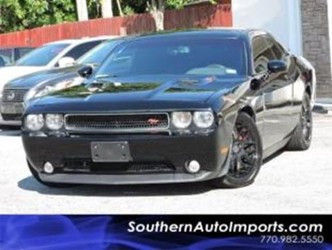 2013 Dodge Challenger for sale in Stone Mountain, GA