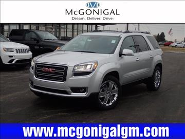 2017 GMC Acadia Limited for sale in Kokomo, IN