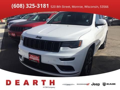2018 Jeep Grand Cherokee for sale in Monroe, WI