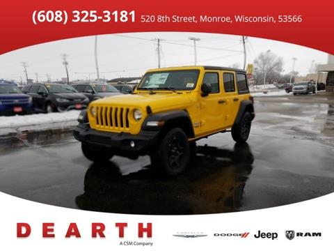 2019 Jeep Wrangler Unlimited for sale in Monroe, WI