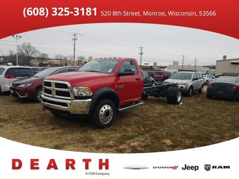 2018 RAM Ram Chassis 5500 for sale in Monroe, WI