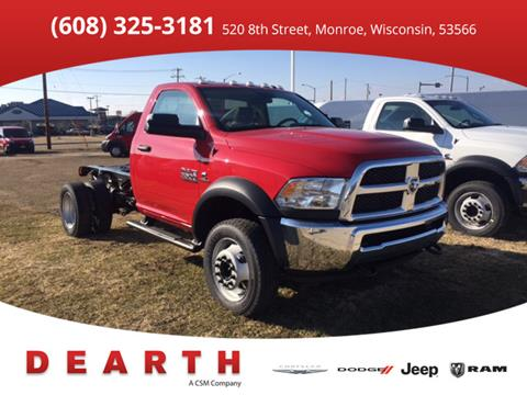 2017 RAM Ram Chassis 5500 for sale in Monroe, WI