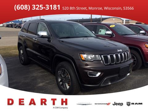 2017 Jeep Grand Cherokee for sale in Monroe, WI