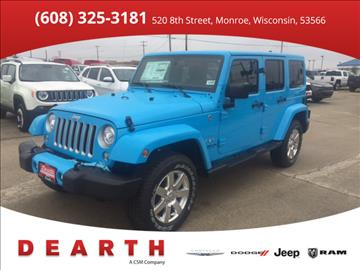 2017 Jeep Wrangler Unlimited for sale in Monroe, WI