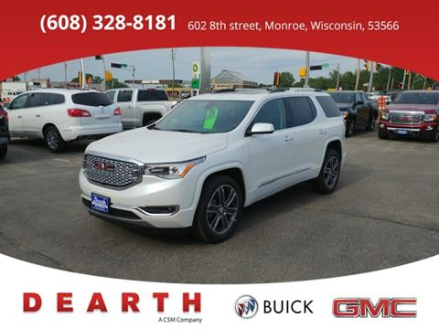 2017 GMC Acadia for sale in Monroe WI