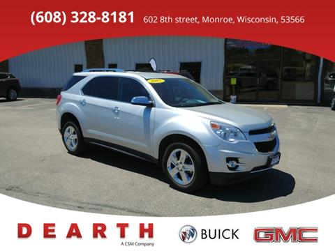 2015 Chevrolet Equinox for sale in Monroe, WI