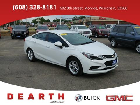 2017 Chevrolet Cruze for sale in Monroe WI