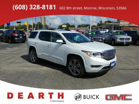 2017 GMC Acadia for sale in Monroe, WI