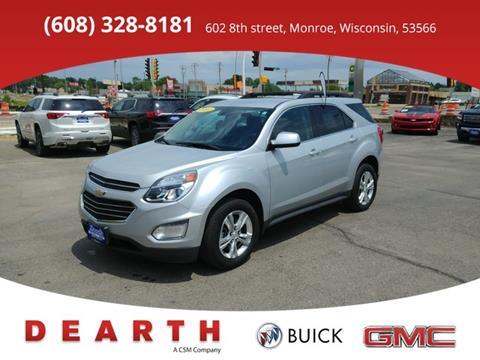 2016 Chevrolet Equinox for sale in Monroe, WI