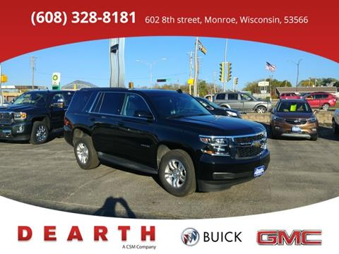 2017 Chevrolet Tahoe for sale in Monroe, WI