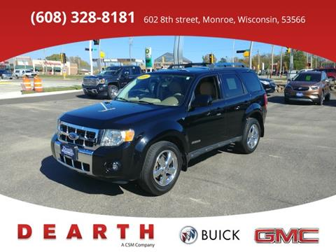 2008 Ford Escape for sale in Monroe, WI