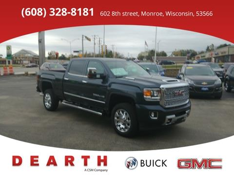 2018 GMC Sierra 2500HD for sale in Monroe WI