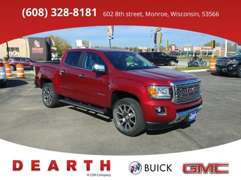 2018 GMC Canyon for sale in Monroe WI