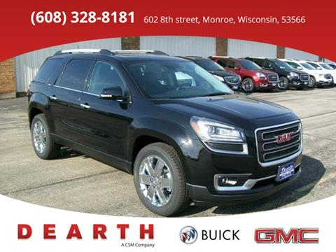 2017 GMC Acadia Limited for sale in Monroe, WI