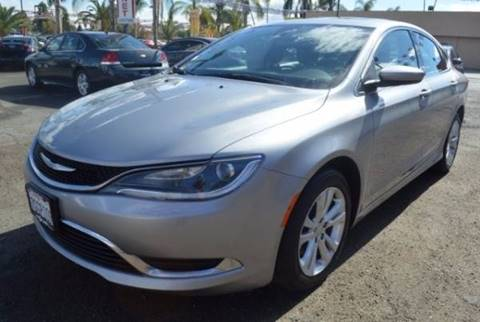 2015 Chrysler 200 for sale in Bakersfield, CA