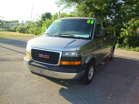 2003 GMC Savana Passenger for sale in Plain City, OH