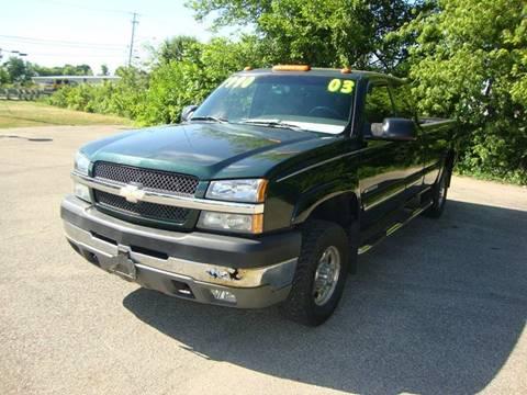 2003 Chevrolet Silverado 2500HD for sale in Plain City, OH