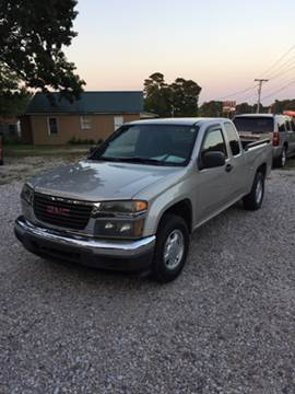 2004 GMC Canyon for sale in Hot Springs, AR