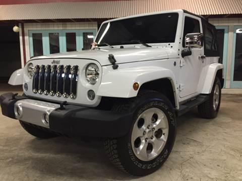 2015 Jeep Wrangler for sale at Gulf Coast Jeeps LLC in Panama City Beach FL