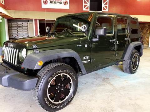 2009 Jeep Wrangler Unlimited for sale at Gulf Coast Jeeps LLC in Panama City Beach FL