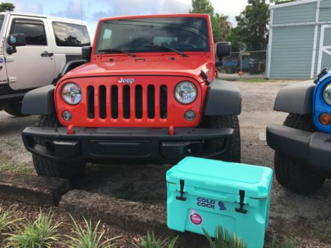 2015 Jeep Wrangler Unlimited for sale at Gulf Coast Jeeps LLC in Panama City Beach FL