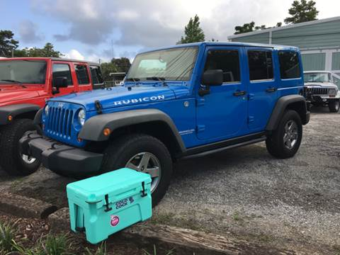 2012 Jeep Wrangler Unlimited for sale at Gulf Coast Jeeps LLC in Panama City Beach FL