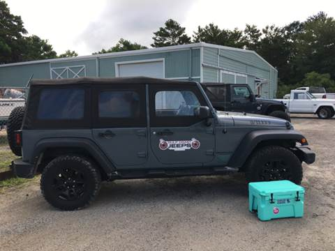 2014 Jeep Wrangler Unlimited for sale at Gulf Coast Jeeps LLC in Panama City Beach FL