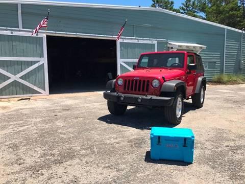 2007 Jeep Wrangler for sale at Gulf Coast Jeeps LLC in Panama City Beach FL