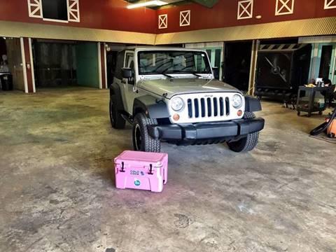 2009 Jeep Wrangler for sale at Gulf Coast Jeeps LLC in Panama City Beach FL