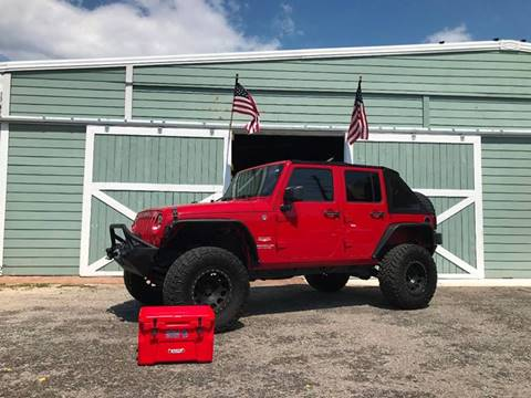 2011 Jeep Wrangler Unlimited for sale at Gulf Coast Jeeps LLC in Panama City Beach FL