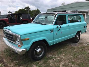 1982 Jeep Cherokee for sale at Gulf Coast Jeeps LLC in Panama City Beach FL