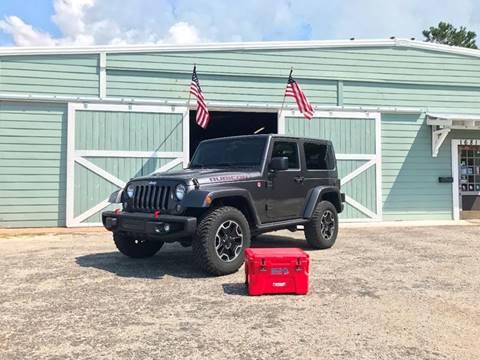 2014 Jeep Wrangler for sale at Gulf Coast Jeeps LLC in Panama City Beach FL