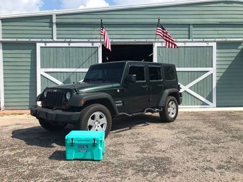 2010 Jeep Wrangler Unlimited for sale at Gulf Coast Jeeps LLC in Panama City Beach FL