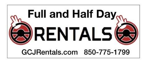 GCJ JEEP Rentals Full and Half Day Options for sale in Panama City Beach, FL