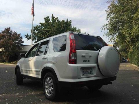 2006 Honda CR-V for sale at Titanium Motors in Sacramento CA