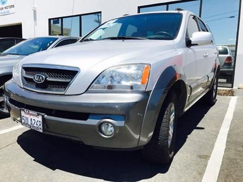 2006 Kia Sorento for sale at Titanium Motors in Sacramento CA