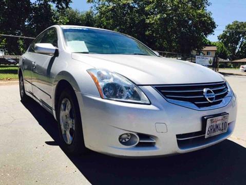 2011 Nissan Altima for sale at Titanium Motors in Sacramento CA