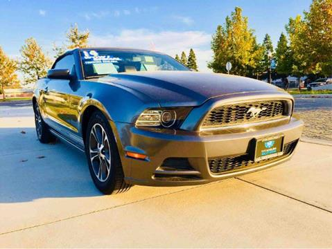 2014 Ford Mustang for sale at Titanium Motors in Sacramento CA