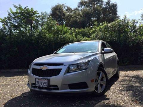 2013 Chevrolet Cruze for sale at Titanium Motors in Sacramento CA