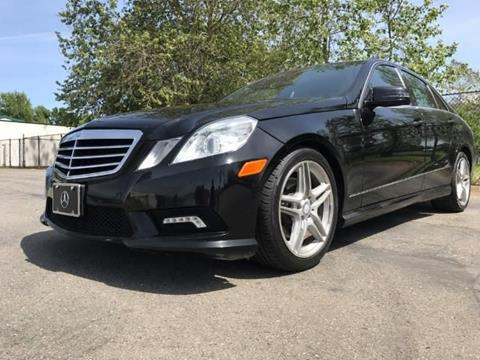 2011 Mercedes-Benz E-Class for sale at Titanium Motors in Sacramento CA