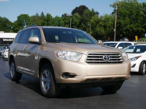 2010 Toyota Highlander for sale at GRANITE RUN PRE OWNED CAR AND TRUCK OUTLET in Media PA