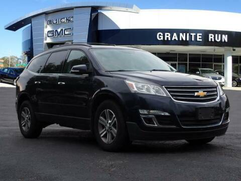 2016 Chevrolet Traverse for sale at GRANITE RUN PRE OWNED CAR AND TRUCK OUTLET in Media PA