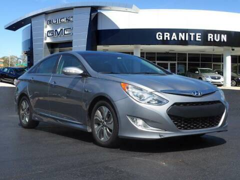 2015 Hyundai Sonata Hybrid for sale at GRANITE RUN PRE OWNED CAR AND TRUCK OUTLET in Media PA