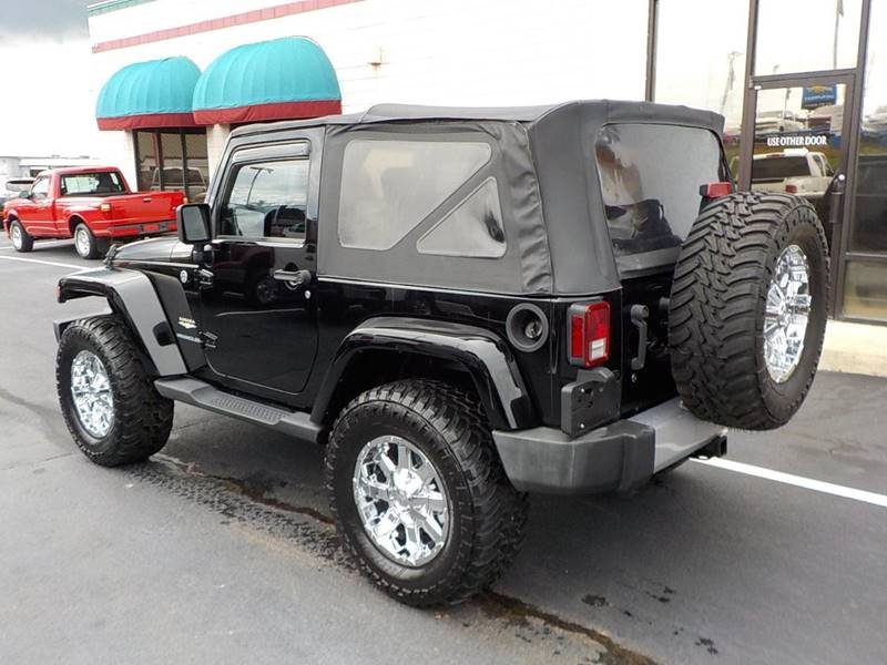 2008 Jeep Wrangler for sale at C & C MOTORS in Chattanooga TN