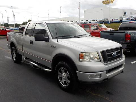 2004 Ford F-150 for sale at C & C MOTORS in Chattanooga TN