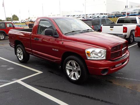 2008 Dodge Ram Pickup 1500 for sale at C & C MOTORS in Chattanooga TN