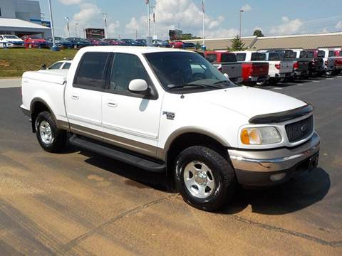 2002 Ford F-150 for sale at C & C MOTORS in Chattanooga TN