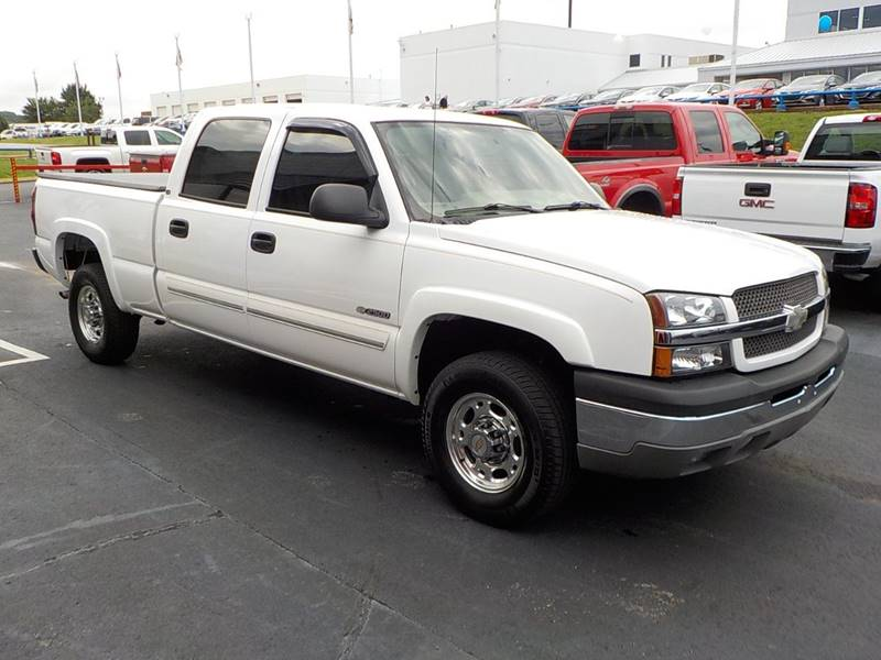 2004 Chevrolet Silverado 2500 for sale at C & C MOTORS in Chattanooga TN