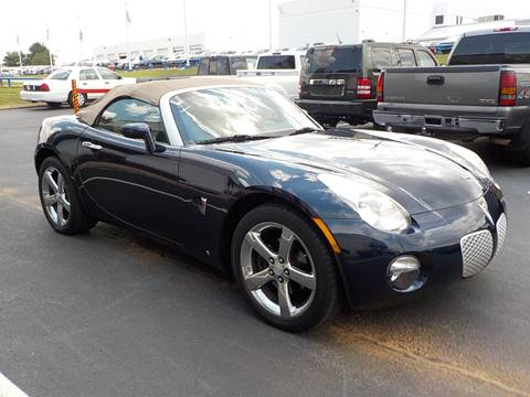 2007 Pontiac Solstice for sale at C & C MOTORS in Chattanooga TN